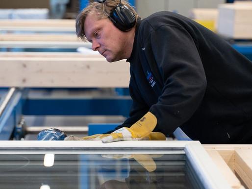 Vi hjelper kunden med byggeprosjekter fra a til å