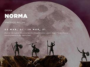 NORMA Teatro Real Madrid