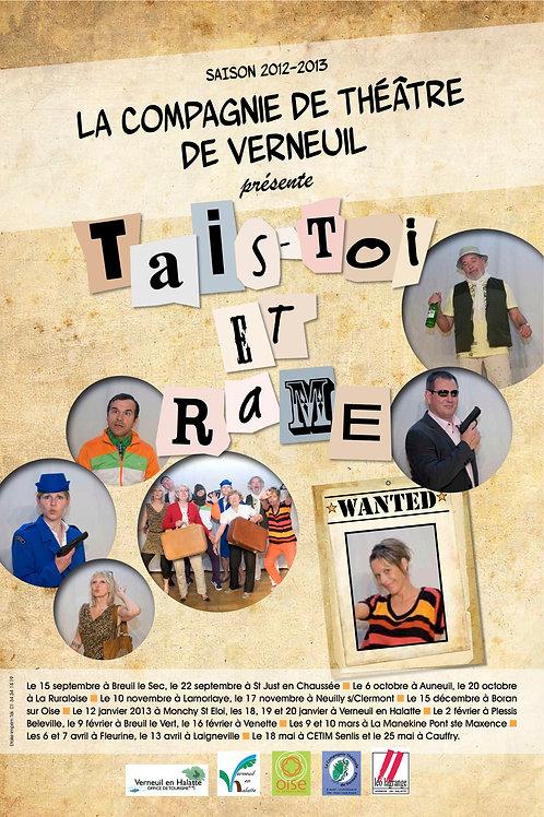 DVD Tais-Toi et Rame