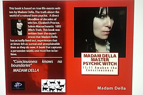 "1ST BOOK -""AWAKEN THE CONSCIOUSNESS"" MASTER PSYCHIC WITCH MADAM DELLA"