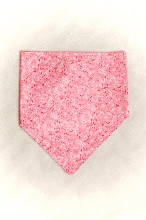 Pink Floral Dog Scarf