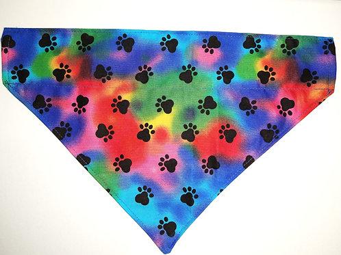 Tie-Dye Paw Print