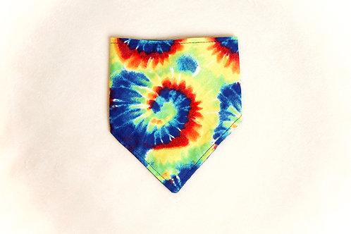 Tie-Dye Dog Scarf