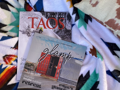 First ever glamping inspired magazine is shockingly amazing.