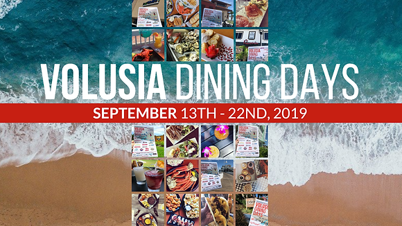 Bloom Volusia Dining Days 2019 Save the