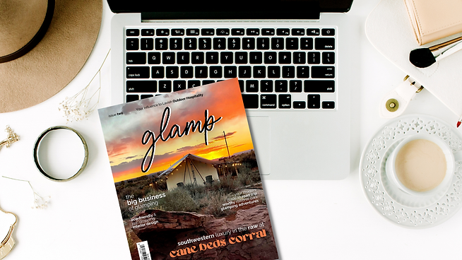 Glamp Issue Two Mock Up.png