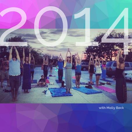 YFM throughout the years... honoring local yoga teachers!
