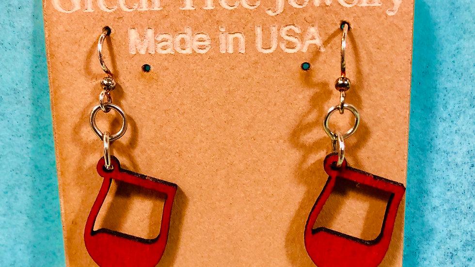 Red Wine Earrings