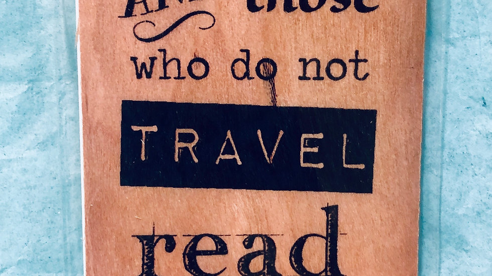 Bookmark-The World Belongs to Those Who Read