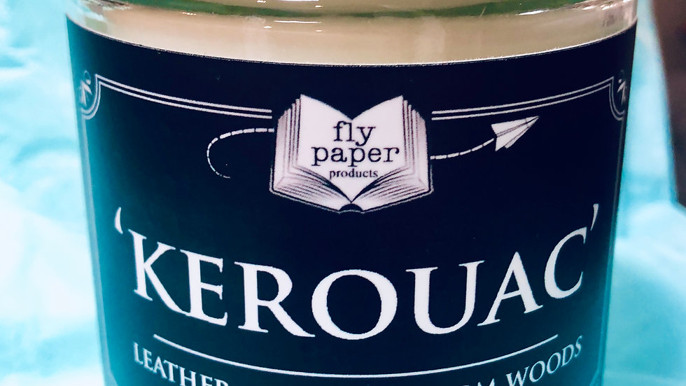 Kerouac 12 oz candle