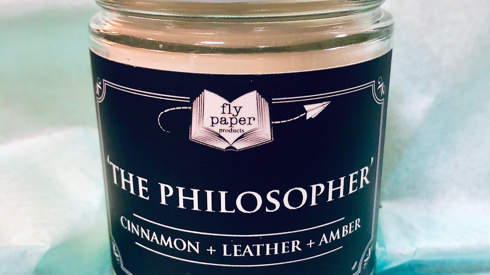The Philosopher-Candle 12 oz