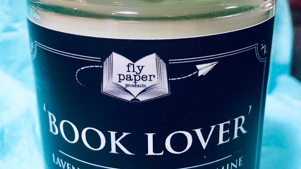 Book Lover 12 oz Candle