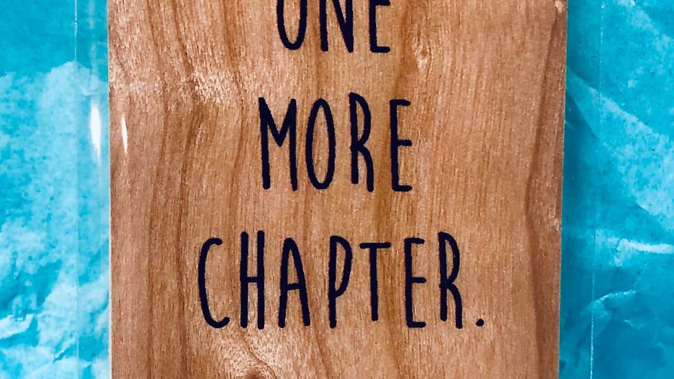Bookmark- Just One More Chapter