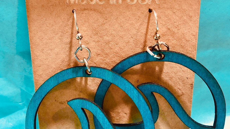 Earrings Waves