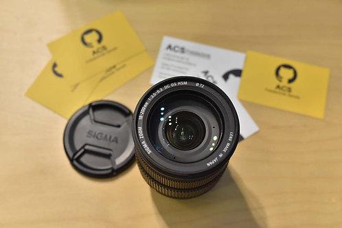 Sigma 18-200 mm f/3.5-6.3 HSM Nikon