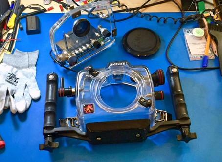 Serwis aparatów i obudów podwodnych