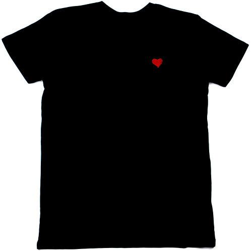 AEV CLASSIC HEART T, BLACK