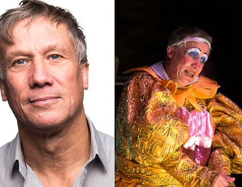 Peter Duncan stars in THE DAME Photo Gor