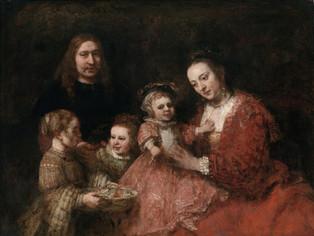 Retrato familiar de Rembrandt: el diablo y el artista