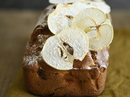 Cake aux pétales de pomme