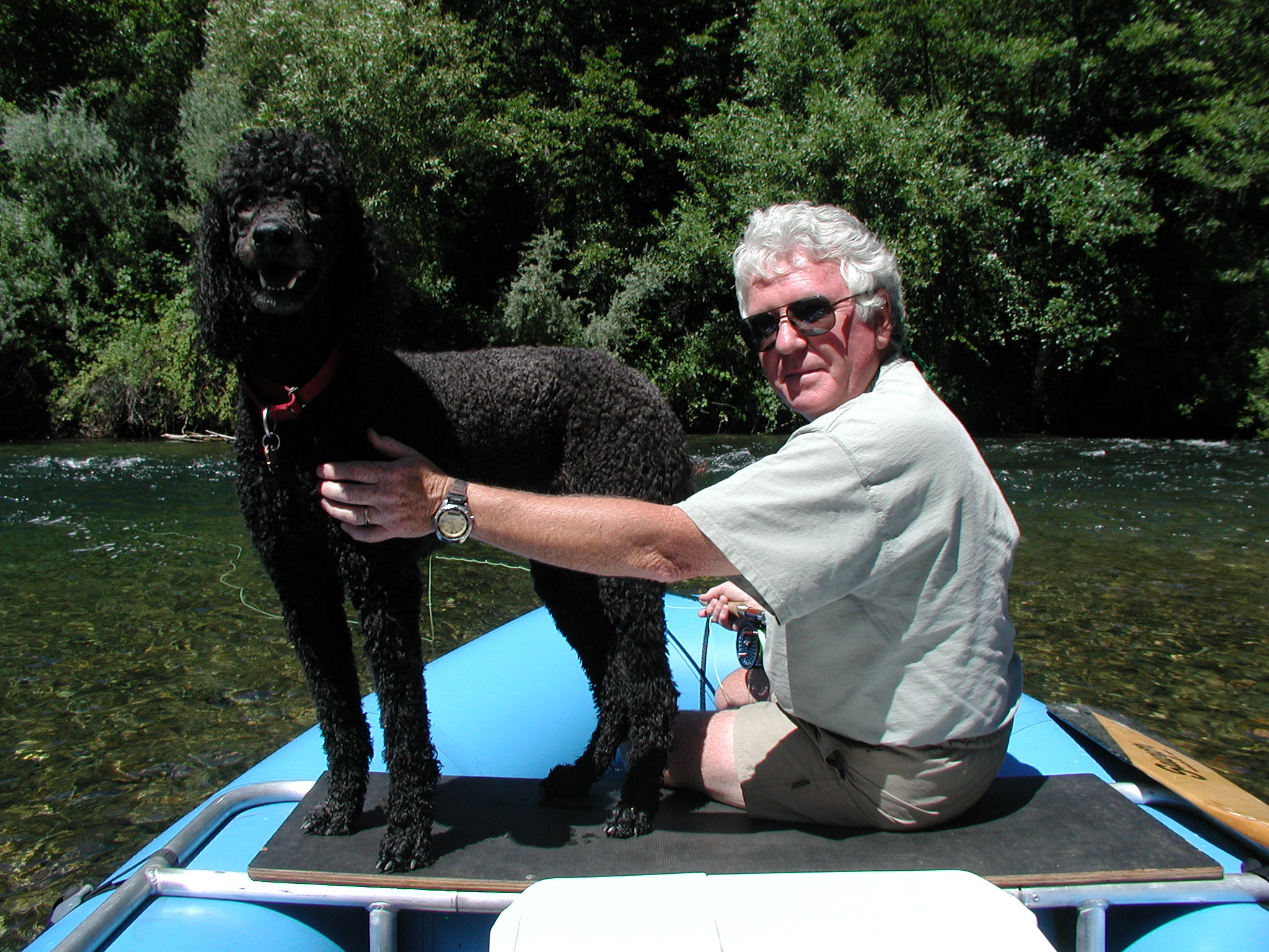 Joe and Curly - Trinity River CA