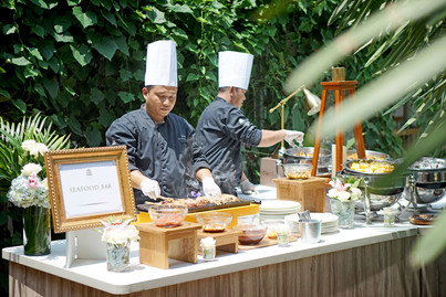 Seafood Live Station by Culture Royale Catering Bali
