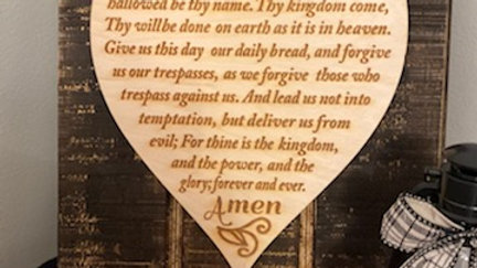 Lords Prayer-Heart