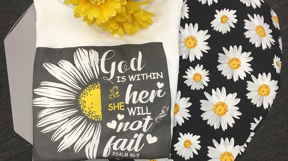 God is Within Her.. Tank Top and legging set