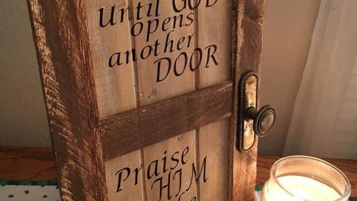 Door-Hallway Saying Sign