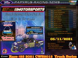 Race#23CWSTruckSeries05-11-21