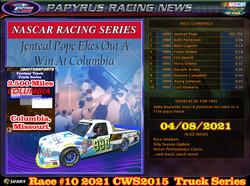 Race#10CWSTruckSeries04-08-21