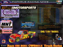 Race#32CWSTruckSeries06-19-21
