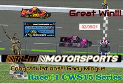 Race#1CWSSeries2-09-21