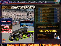 Race#28CWSTruckSeries05-27-21