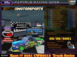 Race#7CWSTruckSeries03-26-21