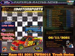 Race#31CWSTruckSeries06-11-21