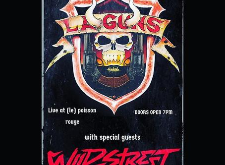 LA Guns & Wildstreet in NYC 11/10