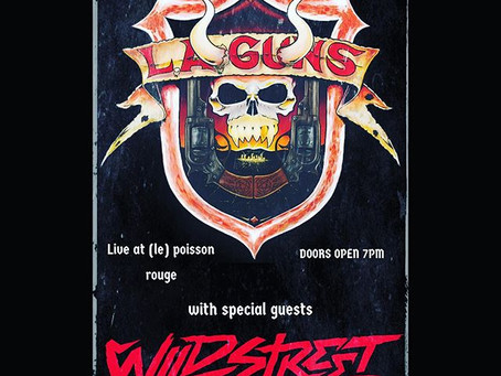LA Guns & Wildstreet in NYC 11/10