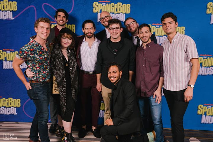 SpongeBob The Musical opening party!