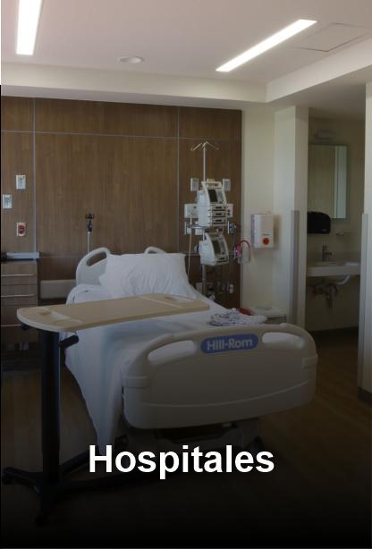 Sanitización  de Hospitales y Clínicas