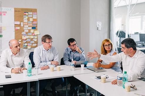 Génie de l'habitat, réunion, entreprise, travail collaboratif