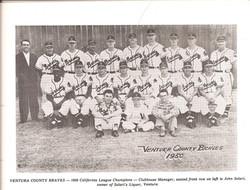 Ventura Braves - 1950