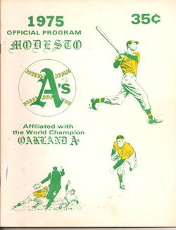 1975 Modesto As Program