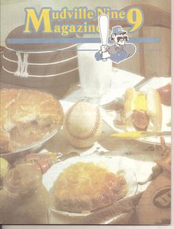 1984 Stockton Mudville Nine Program