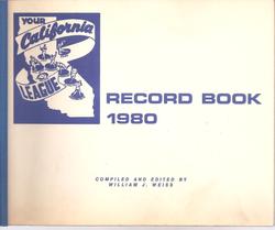 1980 California League Record Book