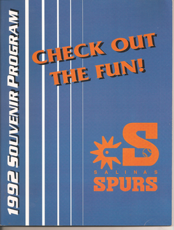1992 Salinas Spurs Program