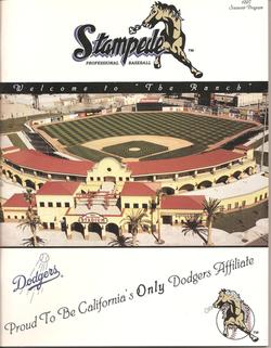 1997 San Bernardino Stampede Program