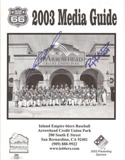2003 Inland Empire 66ers Media Guide