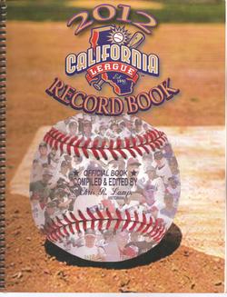 2012 California League Record Book