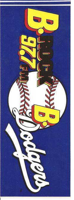 Bakersfield Dodgers Bumper Sticker